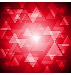 Red colourful background vector image