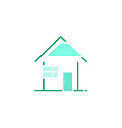 sale or insurance real estate or energy vector image