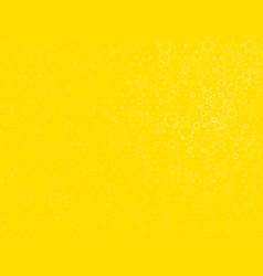 yellow technological hexagon background vector image