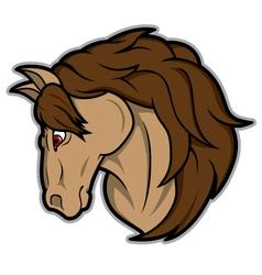 Horse mascot vector