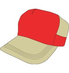 Baseball Cap Clipart Design vector image
