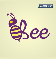 Bee phrase cion vector