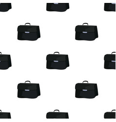 Briefcase icon in cartoon style isolated on white vector
