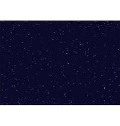 Night starry sky Seamless background vector