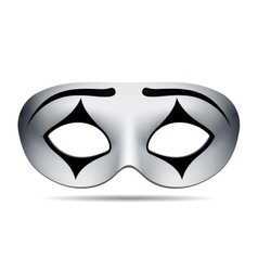 Pierrot carnival mask vector