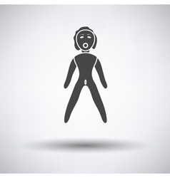 Sex dummy icon vector