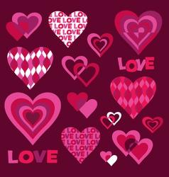 Mod valentines vector