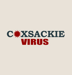 virus disease relative background vector image