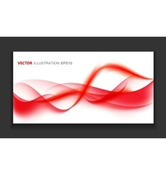 Abstract Colored Wave Card Set Background vector image