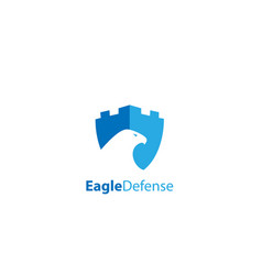 Eafle defense logo vector