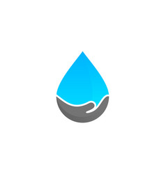help water logo icon design vector image