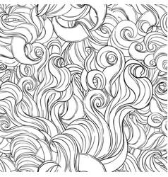 natural texture decorative hand drawn doodle vector image