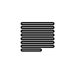 Text alignment icon vector