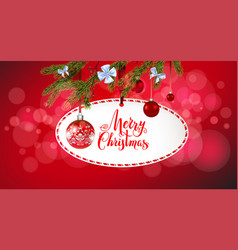 winter holiday found frame vector image