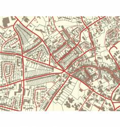 town map vector image