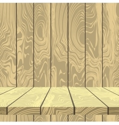 Background of old wooden planks vector image