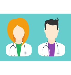 Doctor Icons vector image