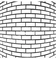 Brick Wall Overlay vector image