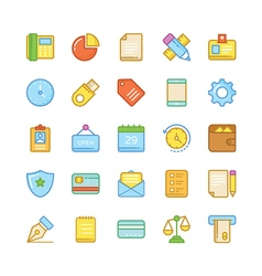 Business Icons 1 vector