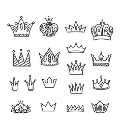 crown isolated vector image