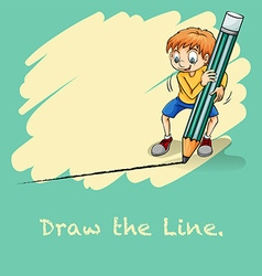 Draw line vector