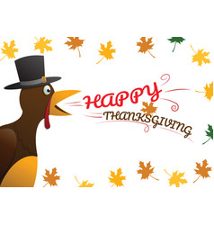 Happy thanksgiving celebration design vector