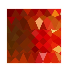 Incardine Red Abstract Low Polygon Background vector