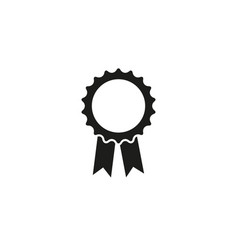 medal of stamp icon check sport clean vector image