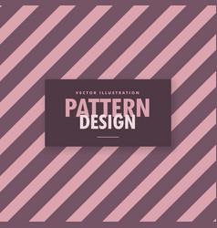 Purple diagonal lines background vector