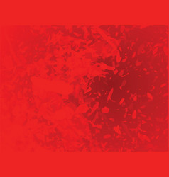 red abstract blots background vector image