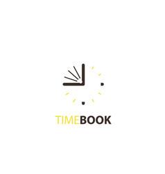 Time book logo vector
