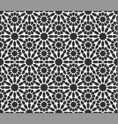 traditional arabic islamic background vector image