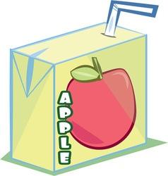 Apple Juice vector
