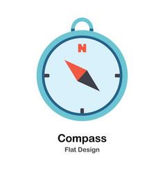 Compass flat vector