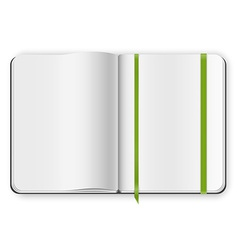 copybook template vector image