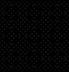 dark dotted seamless background vector image