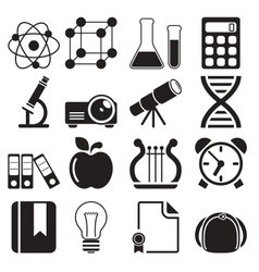 Education Icons Vol 2 vector
