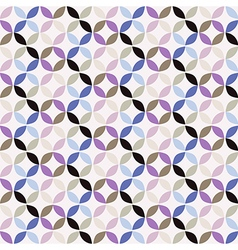 Geometric Circle Pattern Background vector image