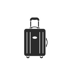 Luggage modern icon vector