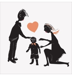Of A Family vector image