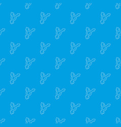 Transgender simbol pattern seamless blue vector