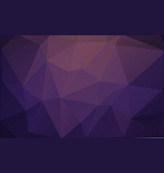 violet triangle polygonal geometric background vector image
