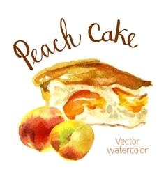 Watercolor sketch vector