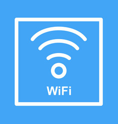 Wifi sign vector