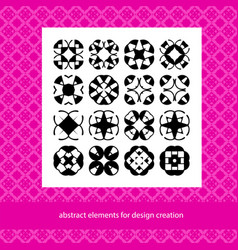 Suits for branding logo or patterns abstract vector