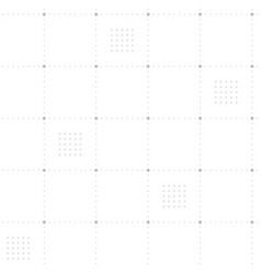 light gray dotted grid seamless background vector image