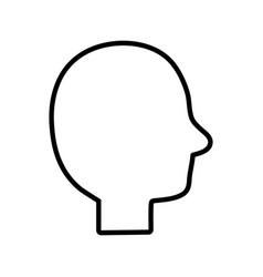 Line person silhouette picture image design vector