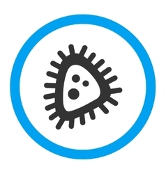 Micro Parasite Rounded Icon vector