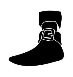 pirate women boot vector image