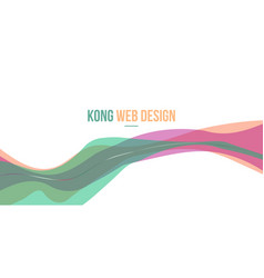 beuty style header website abstract design vector image